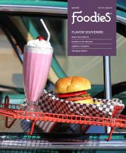 Foodies Magazine Cover April 2017