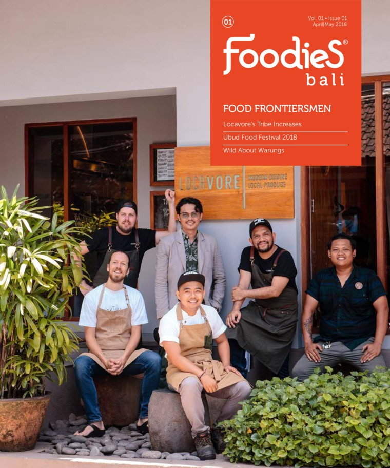 Majalah Digital Foodies Mei 2018