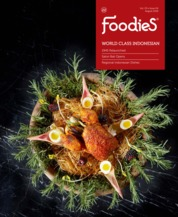 Foodies Magazine Cover August 2018