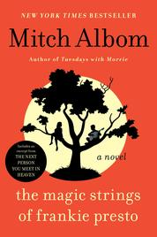 Cover The Magic Strings of Frankie Presto oleh Mitch Albom