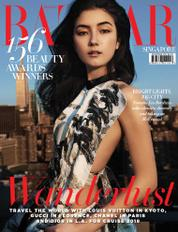 Cover Majalah Harper's BAZAAR Singapore November 2017