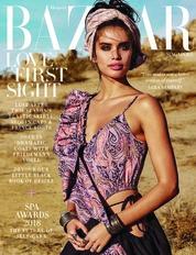 Cover Majalah Harper's BAZAAR Singapore Februari 2018