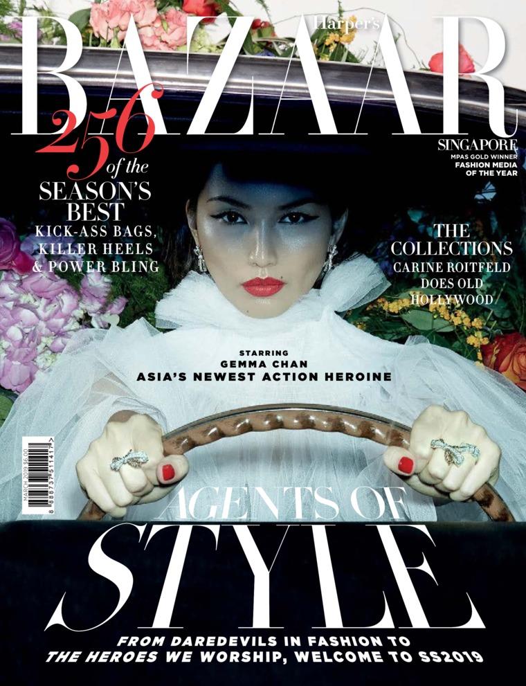 Majalah Digital Harper's BAZAAR Singapore Maret 2019