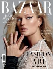 Cover Majalah Harper's BAZAAR Singapore Juli 2019