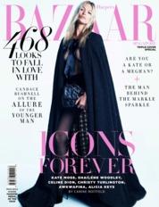Cover Majalah Harper's BAZAAR Singapore