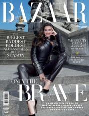 Cover Majalah Harper's BAZAAR Singapore Oktober 2019