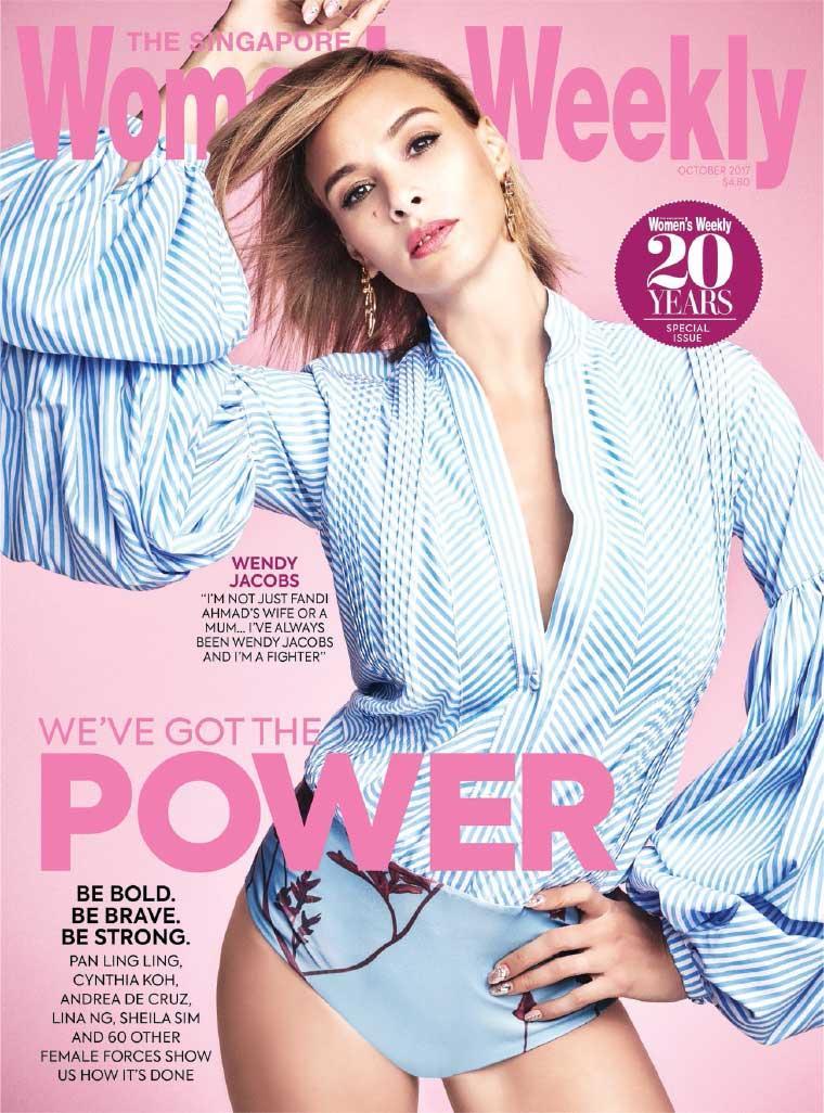 Majalah Digital Women's Weekly Singapore Oktober 2017