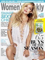 Cover Majalah Women's Weekly Singapore Oktober 2016