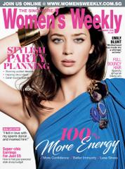 Cover Majalah Women's Weekly Singapore November 2016