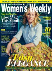 Cover Majalah Women's Weekly Singapore Maret 2017