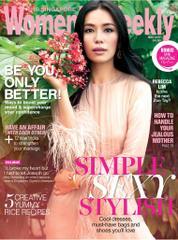 Cover Majalah Women's Weekly Singapore Mei 2017