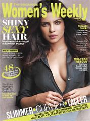 Cover Majalah Women's Weekly Singapore Juni 2017