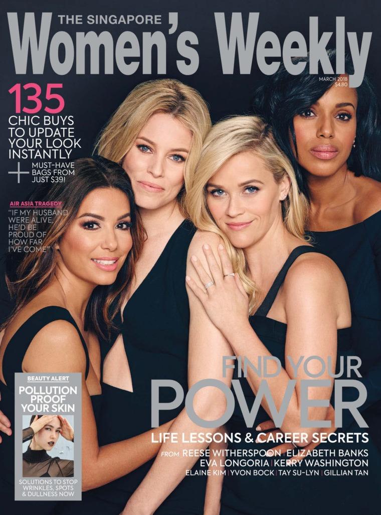 Majalah Digital Women's Weekly Singapore Maret 2018