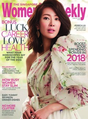 Cover Majalah Women's Weekly Singapore Februari 2018