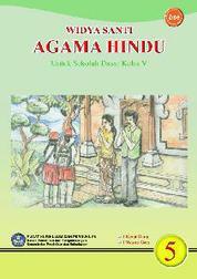 Cover SD Kelas 5 - Pendidikan Agama Hindu oleh Widya Santi