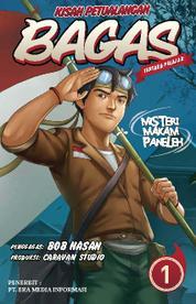 Cover Kisah Petualangan Bagas 1 - Misteri Makam Paneleh oleh Chrislie
