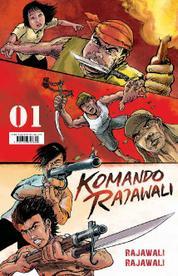 Cover Komando Rajawali 1 - Rajawali Rajawali oleh
