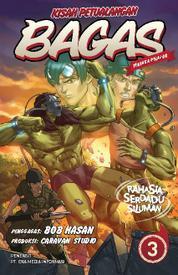 Cover Kisah Petualangan Bagas 3 - Rahasia Serdadu Siluman oleh Chrislie