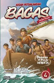 Cover Kisah Petualangan Bagas 4 - Prahara di Pulau Dewata oleh Chrislie