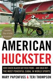 American Huckster by Mary Papenfuss Cover