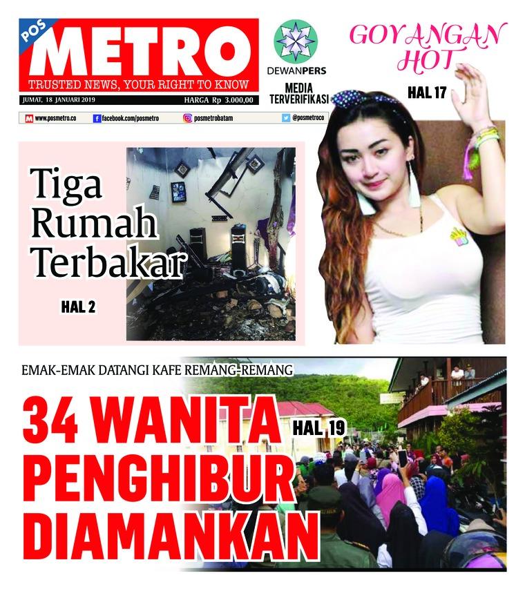 Koran Digital POSMETRO 18 Januari 2019