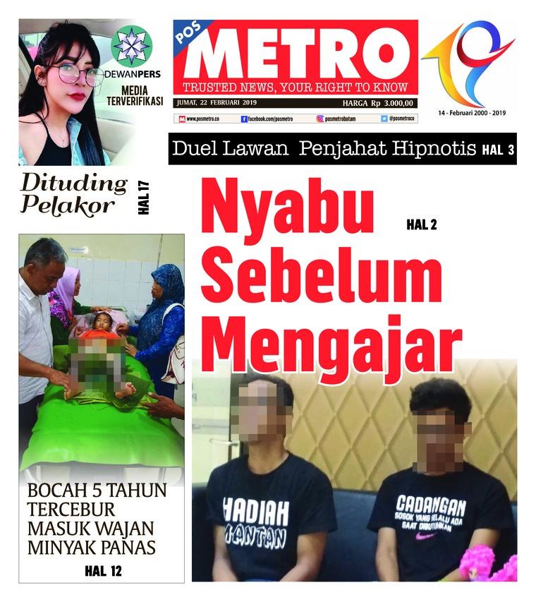Koran Digital POSMETRO 22 Februari 2019