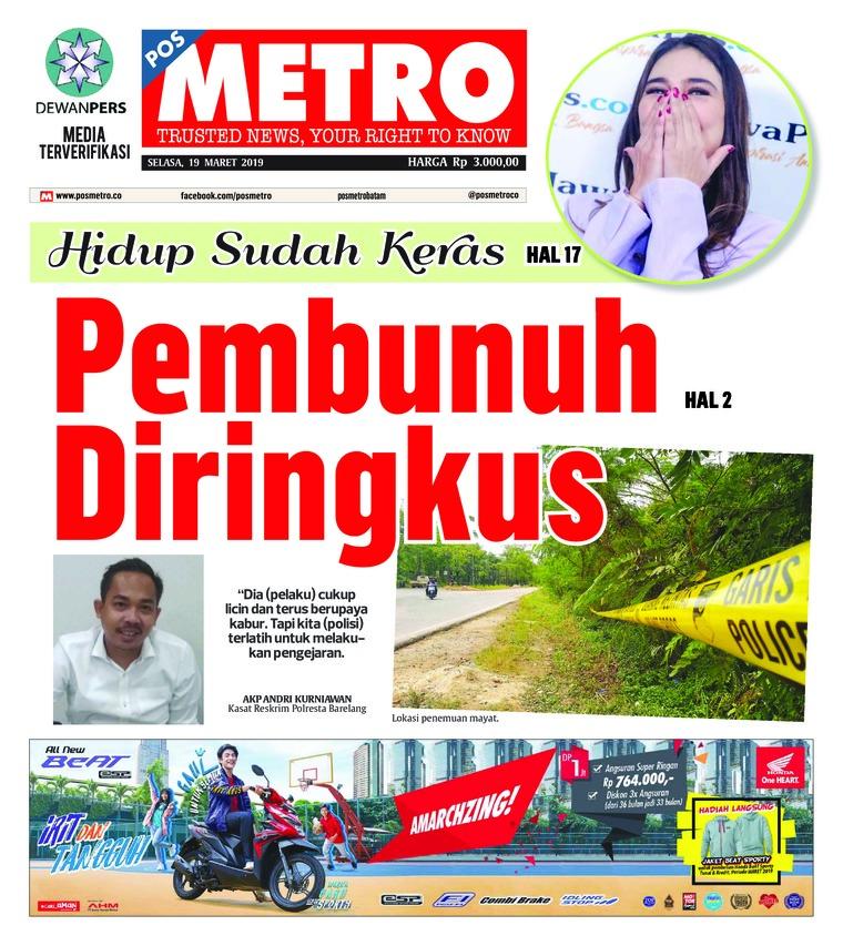 POSMETRO Digital Newspaper 19 March 2019