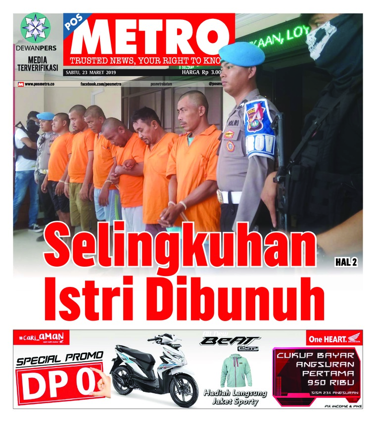 POSMETRO Digital Newspaper 23 March 2019