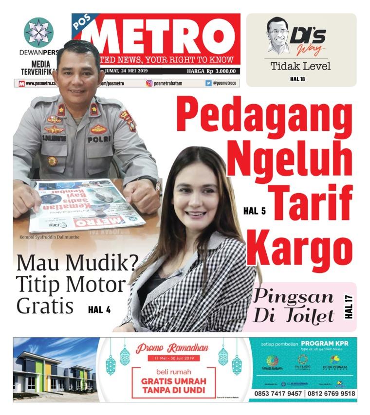 POSMETRO Digital Newspaper 24 May 2019