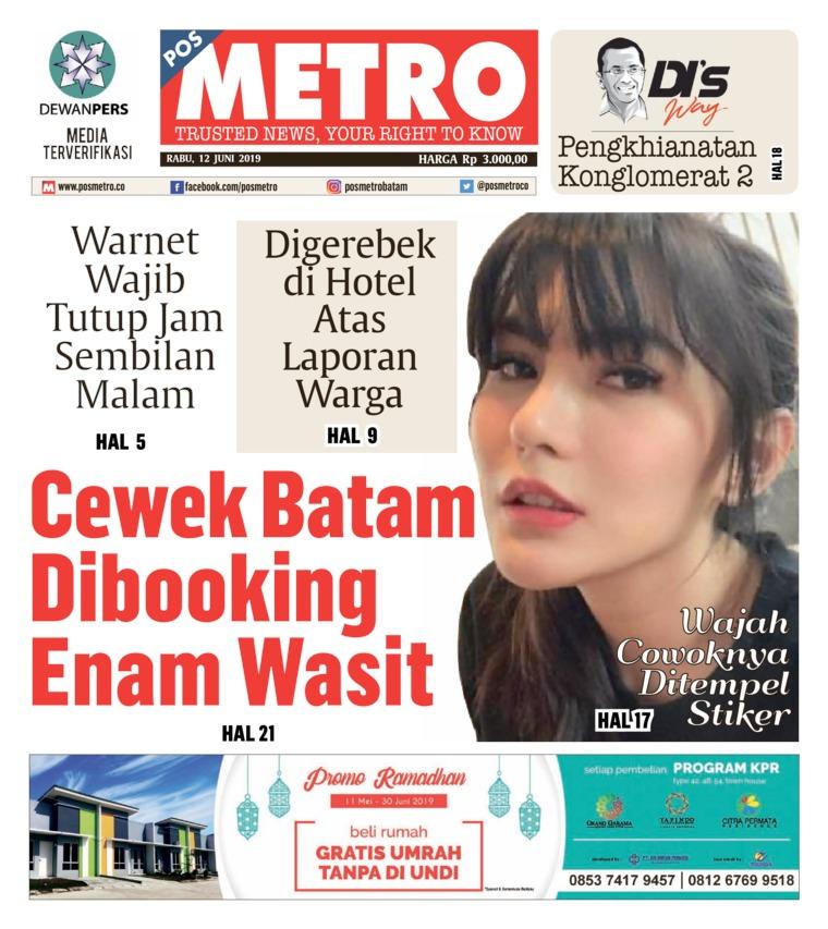 POSMETRO Digital Newspaper 12 June 2019