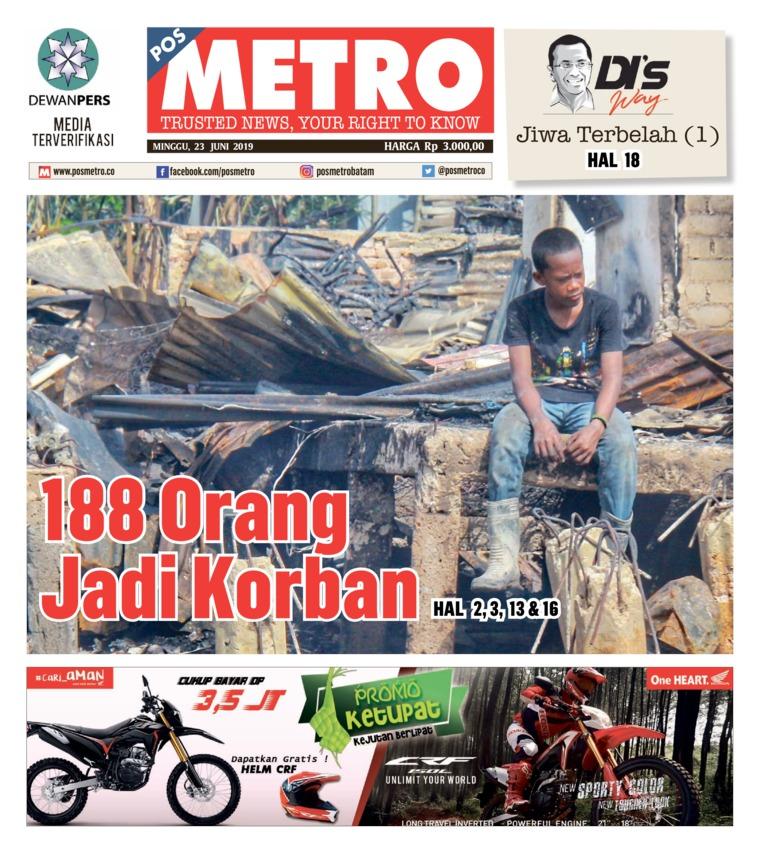 POSMETRO Digital Newspaper 23 June 2019
