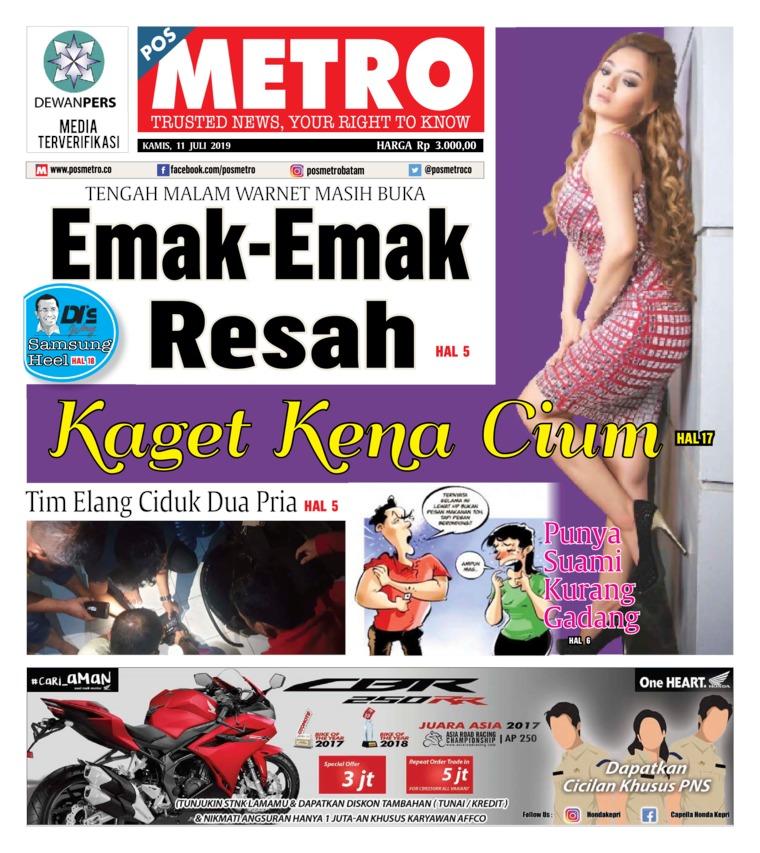 POSMETRO Digital Newspaper 11 July 2019