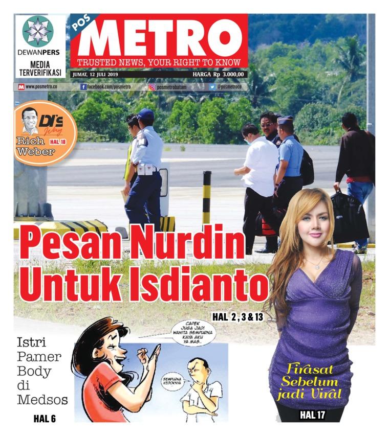 POSMETRO Digital Newspaper 12 July 2019