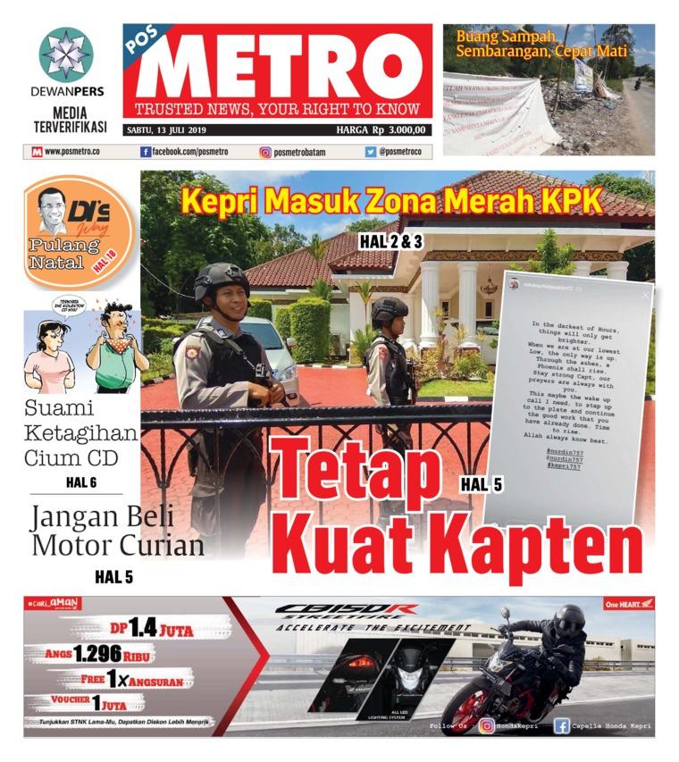 POSMETRO Digital Newspaper 13 July 2019