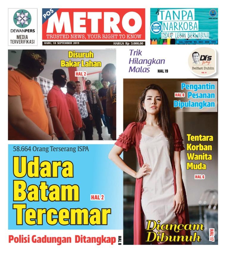 POSMETRO Digital Newspaper 18 September 2019