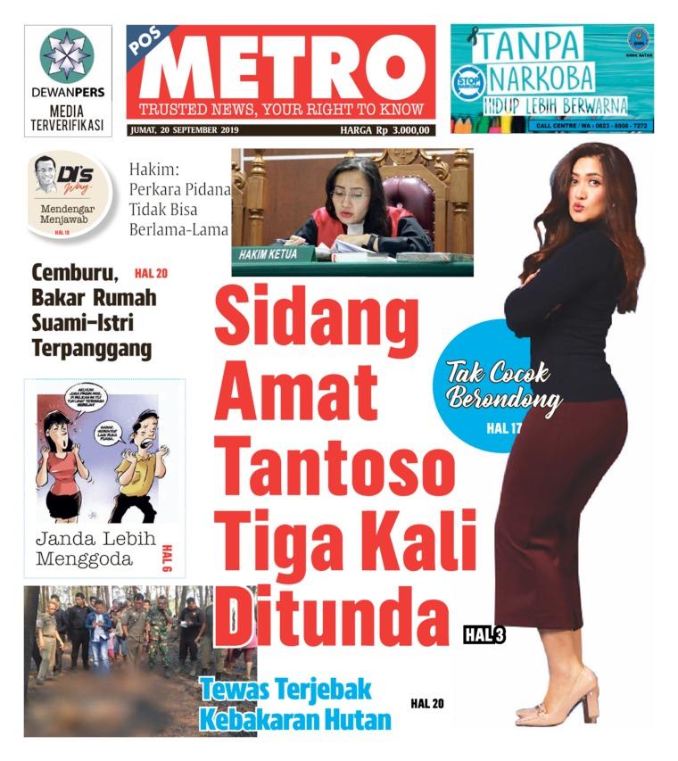 POSMETRO Digital Newspaper 20 September 2019
