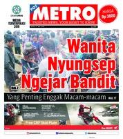 Cover POSMETRO 21 Mei 2018