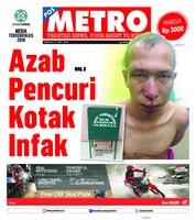 Cover POSMETRO 27 Mei 2018