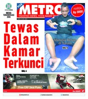 POSMETRO Cover 21 July 2018