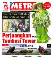 Cover POSMETRO 19 Agustus 2018