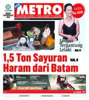 Cover POSMETRO 21 September 2018
