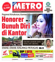Cover POSMETRO 22 September 2018