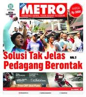 Cover POSMETRO 25 September 2018