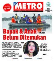 Cover POSMETRO 14 Oktober 2018