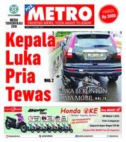 Cover POSMETRO 17 Oktober 2018