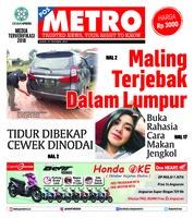 Cover POSMETRO 19 Oktober 2018