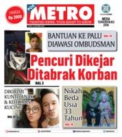 Cover POSMETRO 22 Oktober 2018