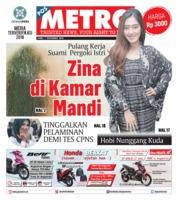 Cover POSMETRO 07 November 2018