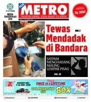Cover POSMETRO 08 November 2018
