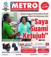 Cover POSMETRO 09 November 2018
